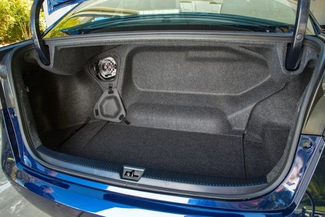 2016 Toyota Mirai trunk