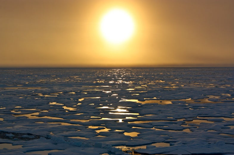 Scientists Spend Arctic Winter Adrift On An Ice Floe
