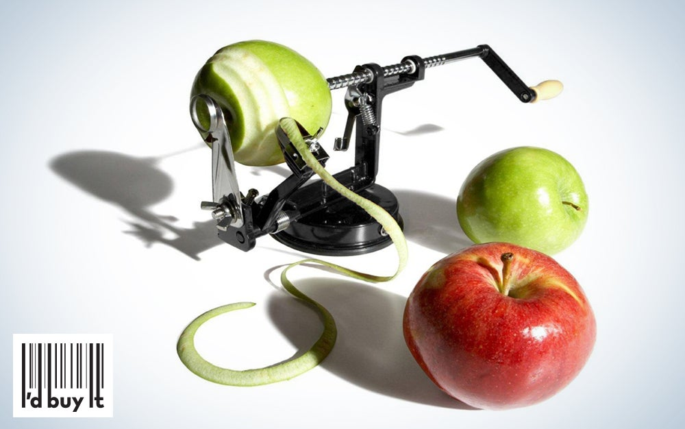 UtenLid Apple and Potato Peeler, Corer, and Slicer