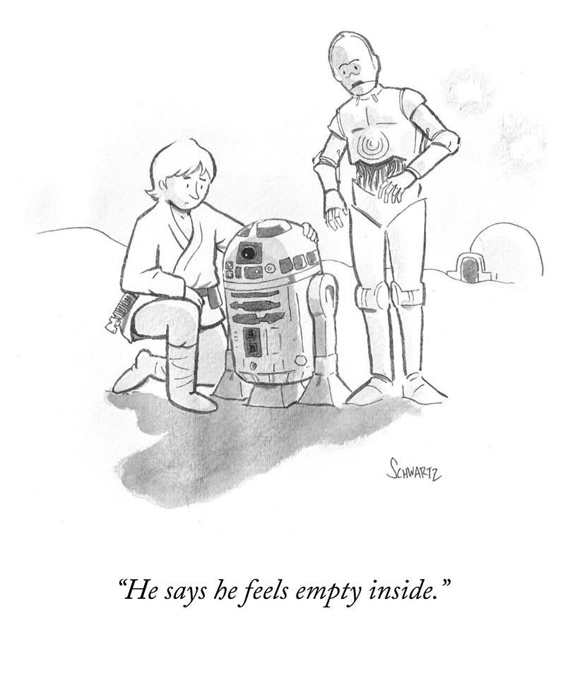 The New Yorker Sent Star Wars Actor Kenny Baker Off Right