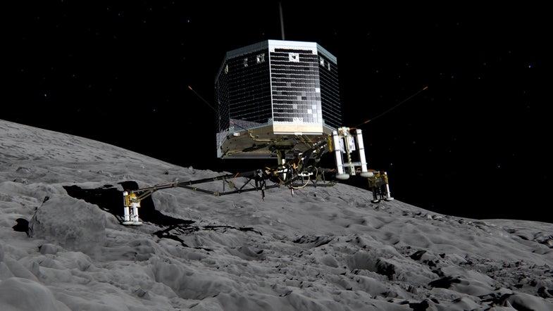 Ground Control Says Goodbye To Philae