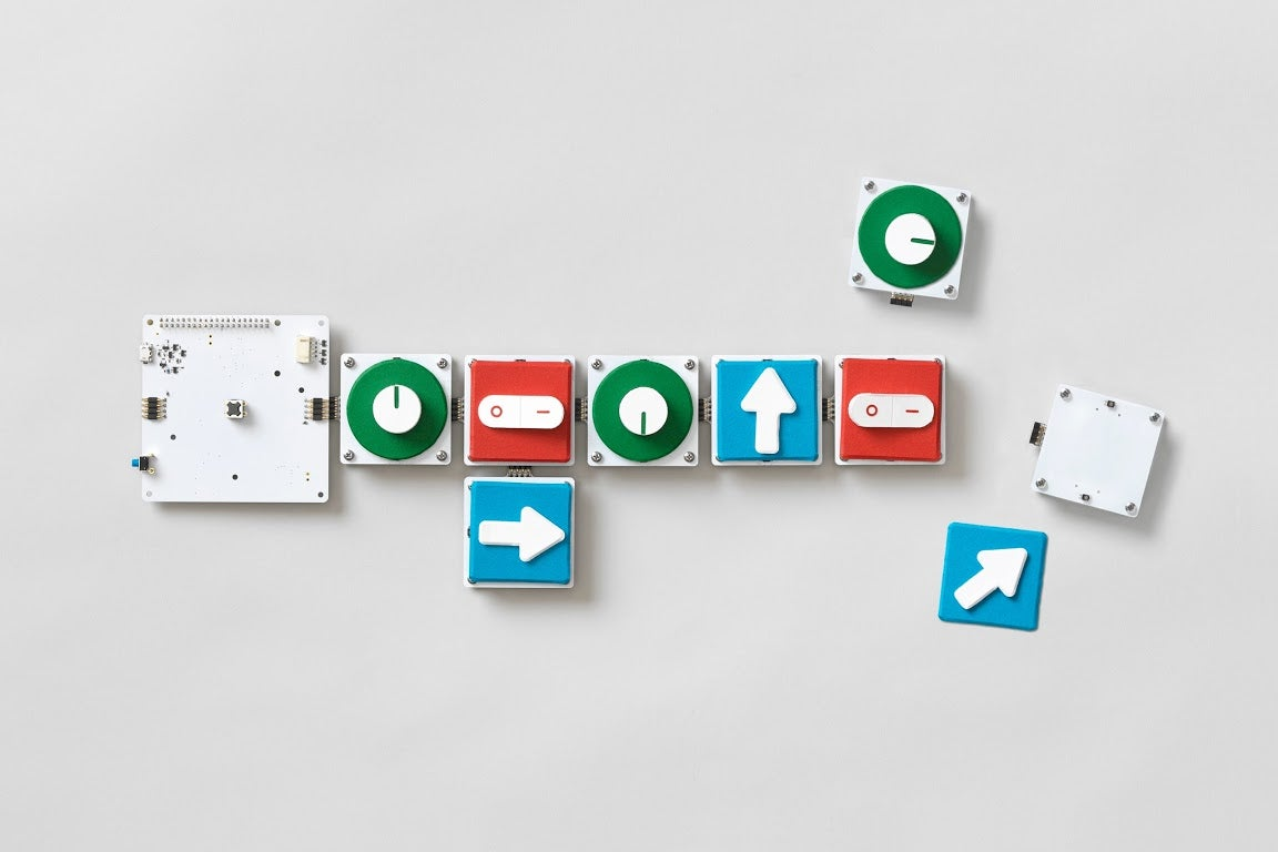 Project Bloks makes code physical and easy to understand for kids.