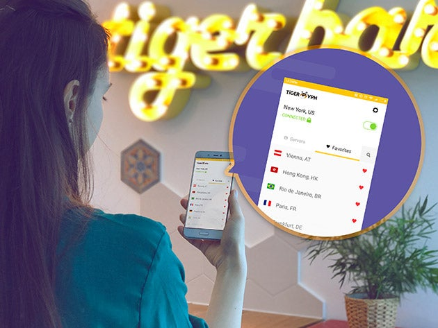 TigerVPN prevents your ISP from selling your data