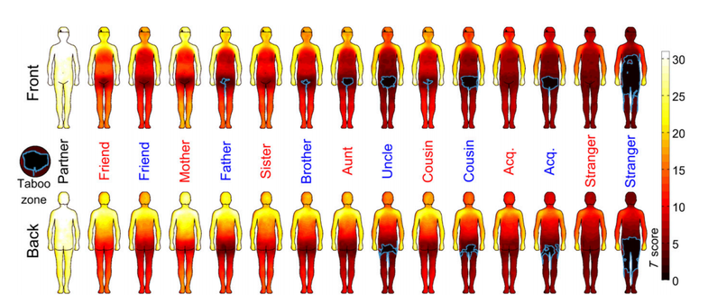 Scientists Map The Parts Of The Body Where Touching Is Okay