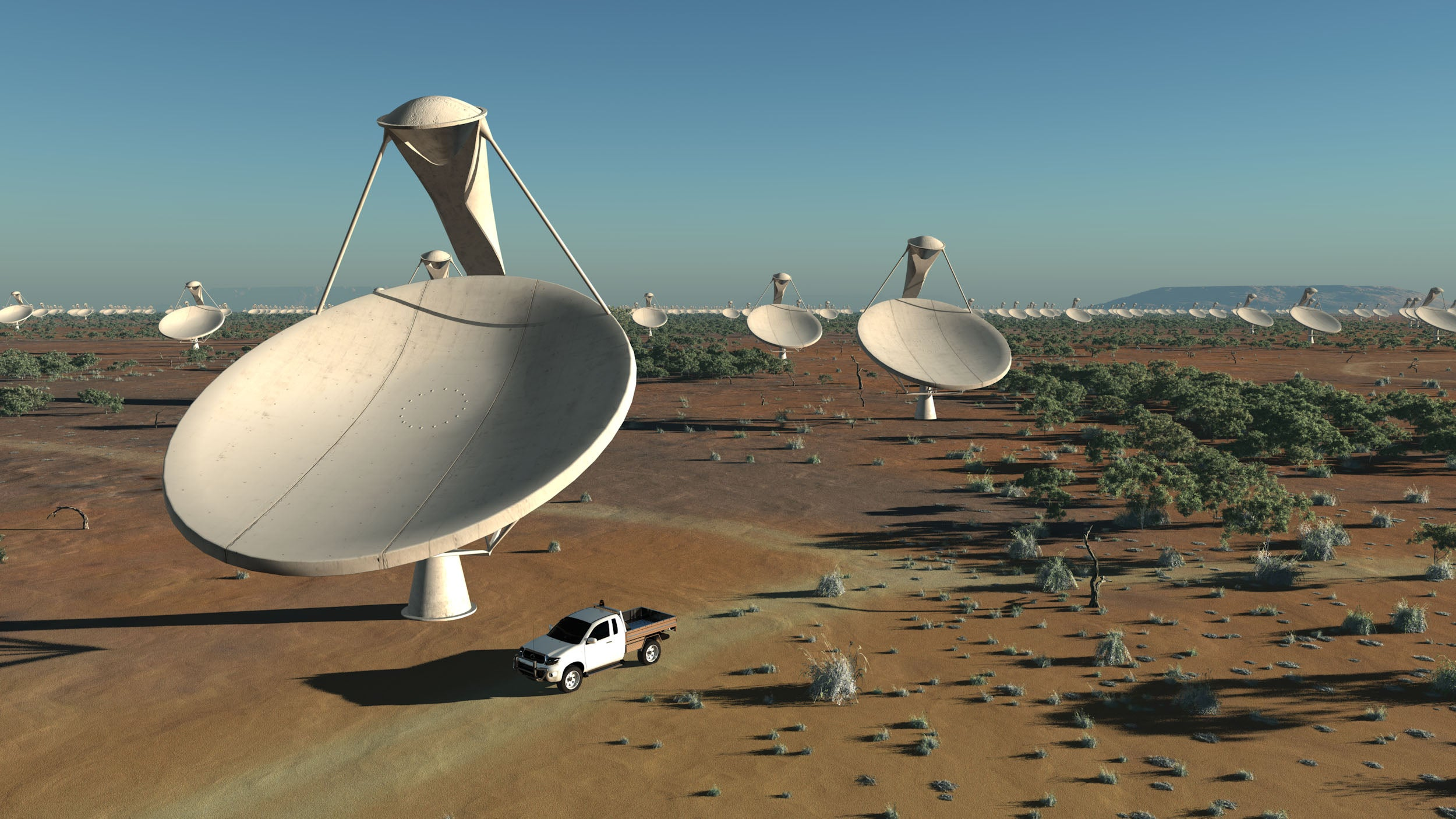 Which Continent to Put the Largest Radio Telescope On? Why Not Share It