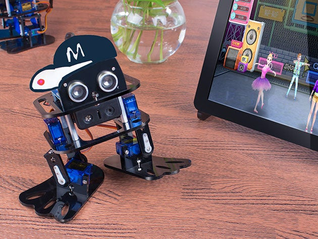 This awesome DIY robot kit is the perfect project to start off the new year
