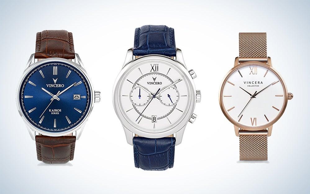 Vincero wristwatches