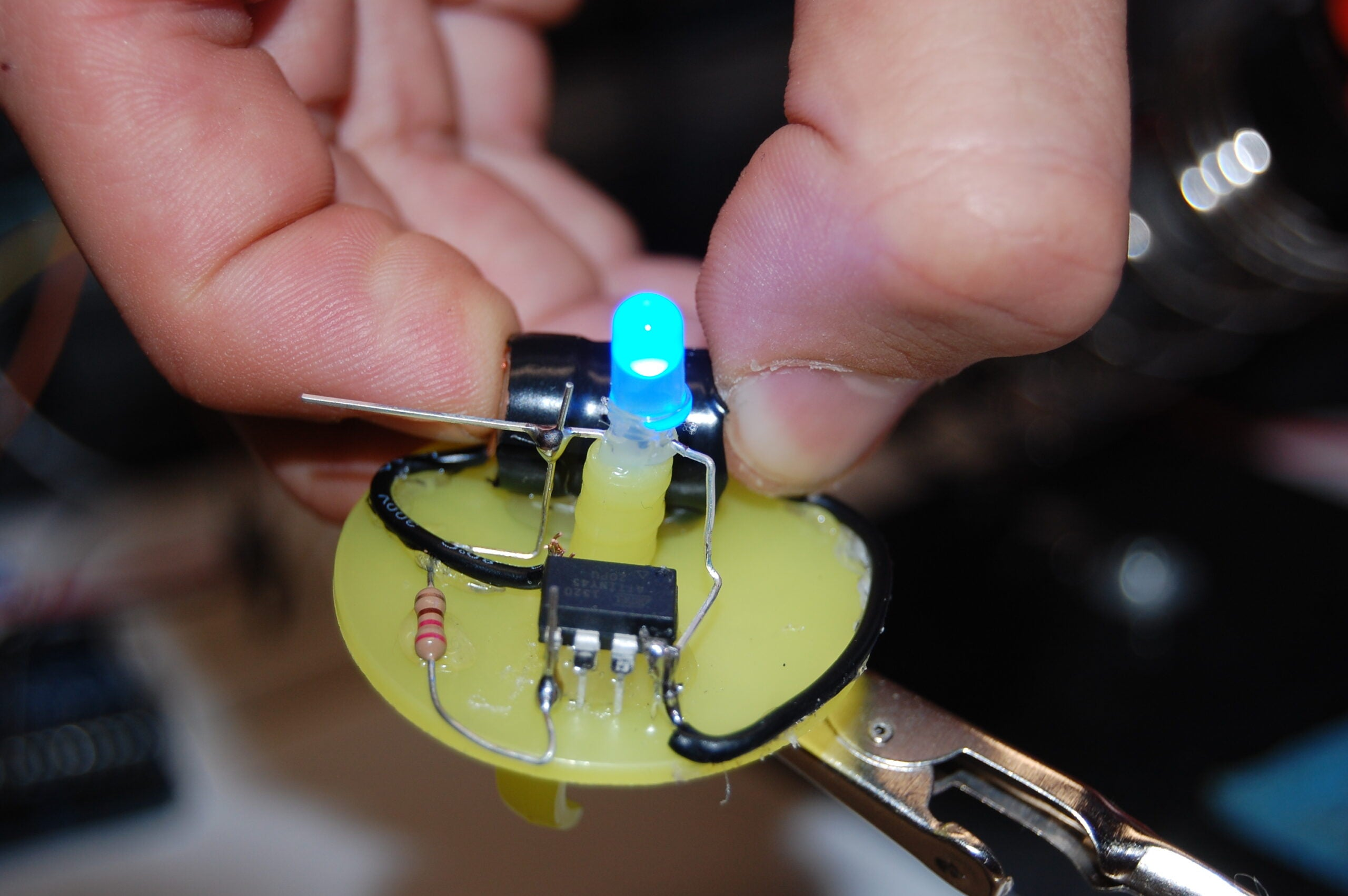 Put a blinky ring on it