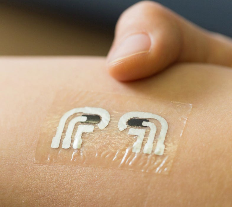 Stick-On Tattoo Measures Blood Sugar Without Needles