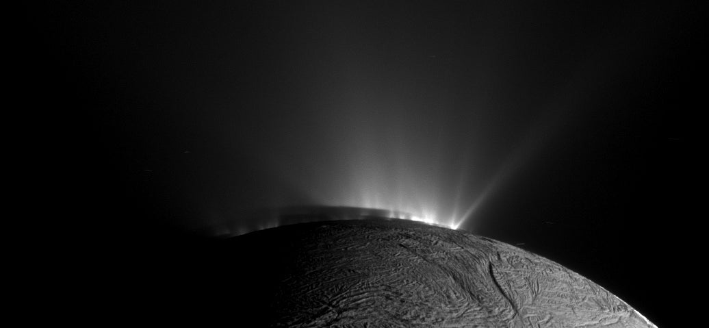 Where Do Geysers On Enceladus Erupt From? Probably A Buried Ocean