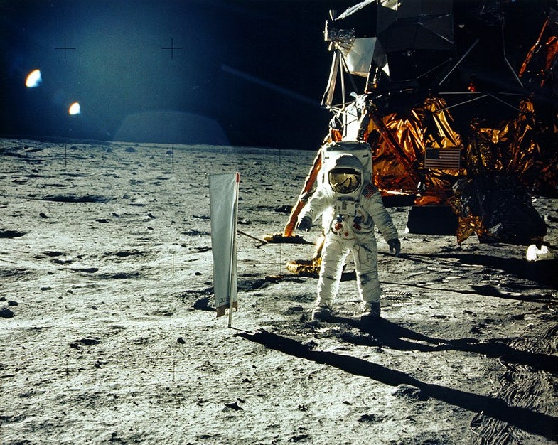 Mapping the Apollo Landing Sites, Then and Now