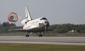 Veteran Space Shuttle Discovery Touches Down For The Last Time