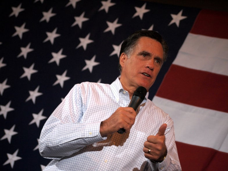 Mitt Romney's Space Plan: After the Election, Figure Out Some Better Goals Than Obama's