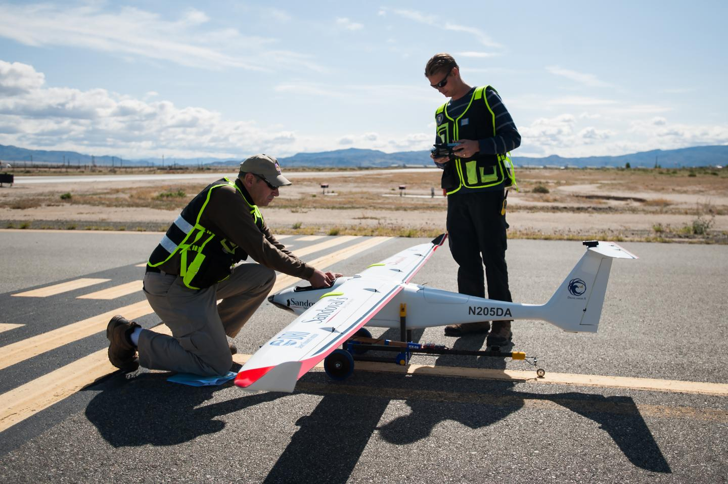 This Drone Just Seeded A Rain Cloud In The Desert