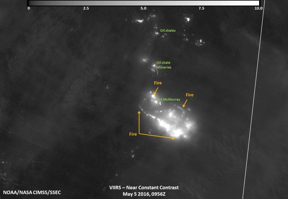 Satellite Images Show Wide View Of Canadian Wildfire Disaster