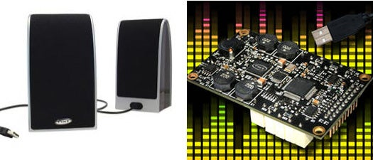 New USB Speakers Store Unused Power to Augment Audio from Portable Amps