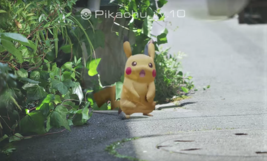 Pokémon's Augmented Reality Game Will Arrive In July