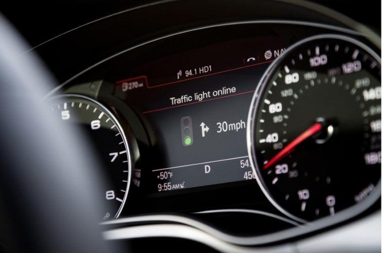 Audi Traffic Light Recognition Could Save Time And Fuel