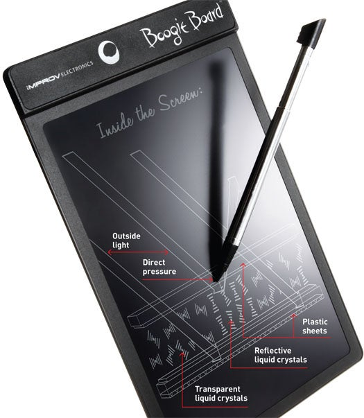 Boogie Board: A Battery-Powered Notepad as Convenient as Pen and Paper