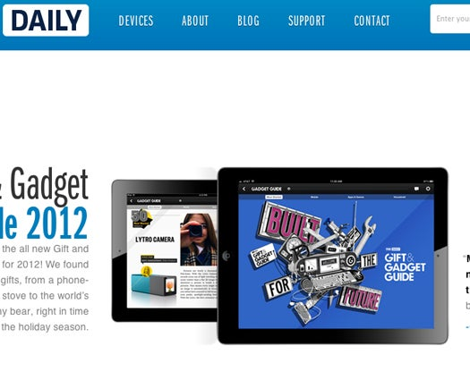 Tablet Newspaper 'The Daily' Is Folding