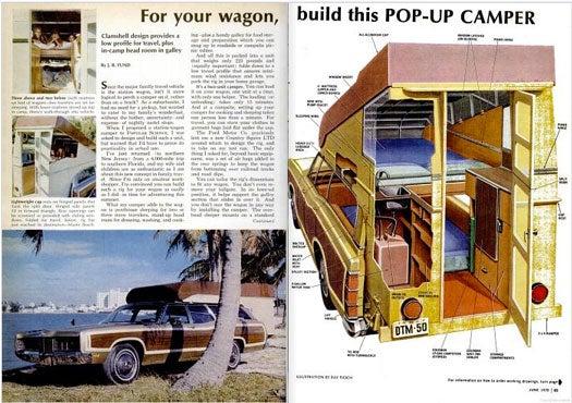 Station Wagon Camper: July 1970