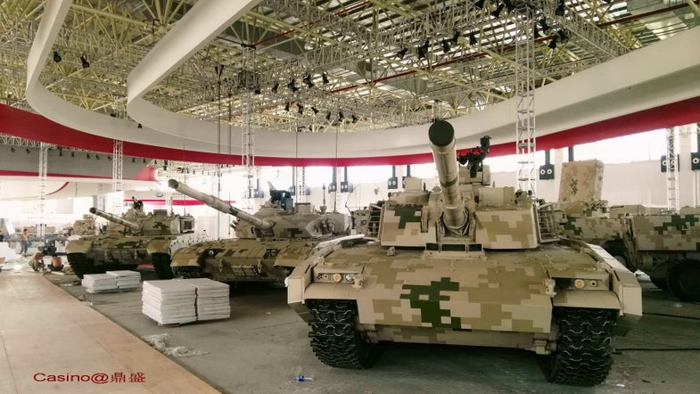 The new exoskeletons, tanks and ATVs that China will bring to a future battle: The Ground Gear of the Zhuhai Airshow