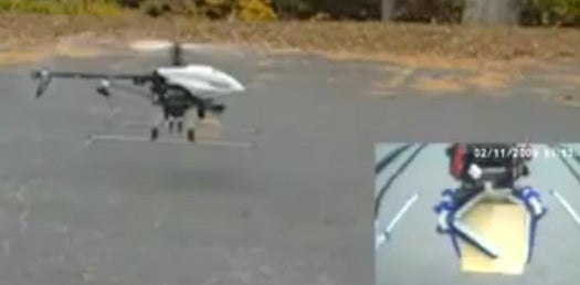 Video: Yale's Grab Lab Demonstrates an Unmanned Helicopter With a Grabbing Hand