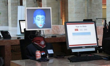 Bilingual Roboreceptionist is Eager to Address Your Cross-Cultural Needs