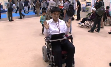 Video: Face-Controlled Wheelchair Moves With the Clench of a Jaw