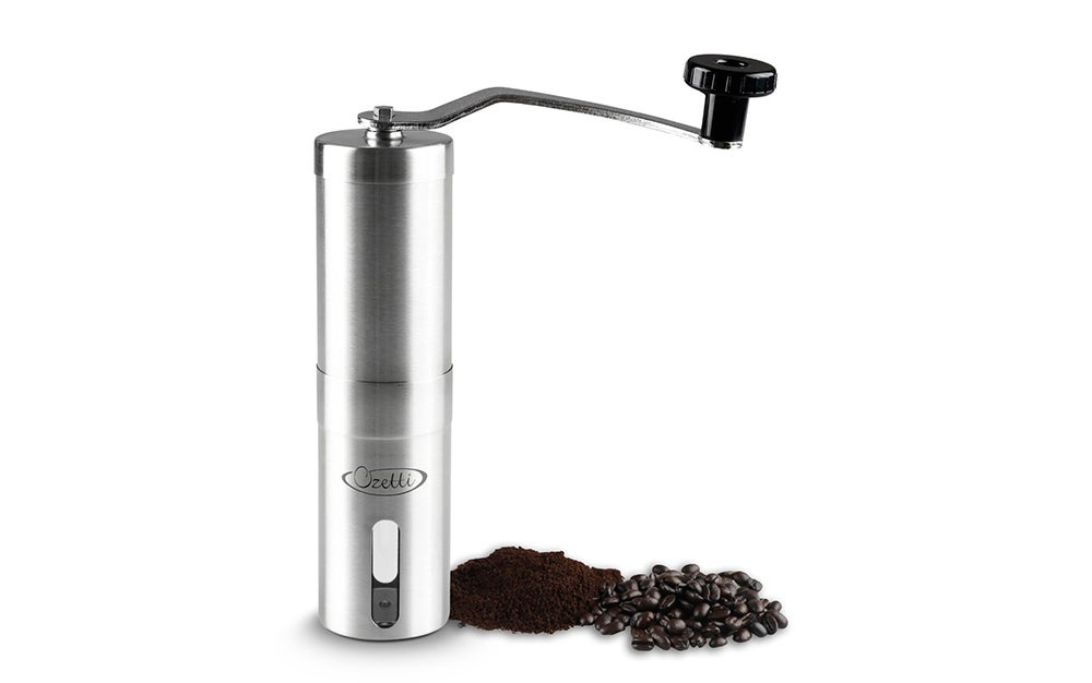 An adjustable coffee grinder for 81 percent off? I'd buy it.