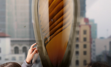 Sleek Urban Hive Lets You Keep Bees in the Comfort of Your Apartment