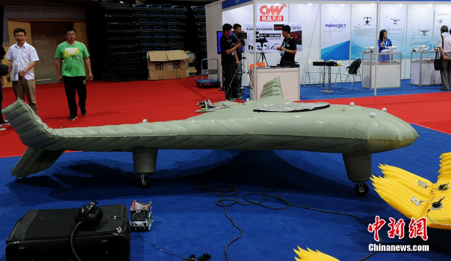 The New Inflatable Chinese Drone: Battlefield Balloons?