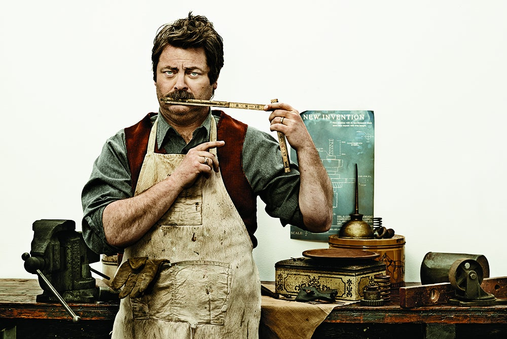Nick Offerman On Why We Should Build Stuff