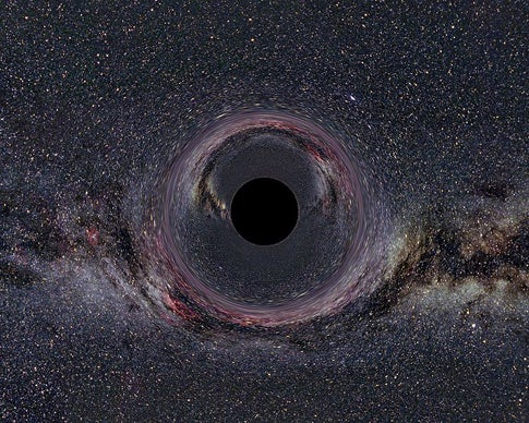 Sonic Disruptions Create Artificial Black Hole