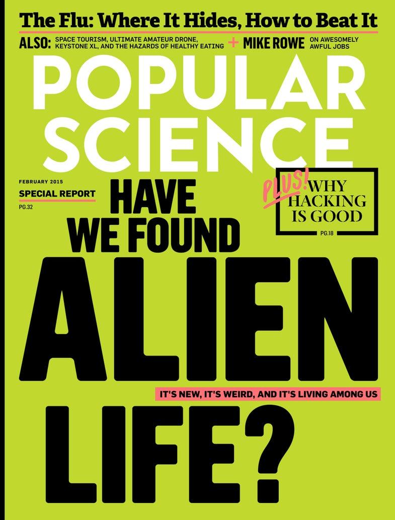 Issue Alert: Have We Found Alien Life?