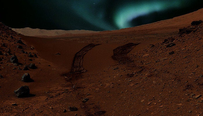 Here's How Auroras Probably Look On Mars