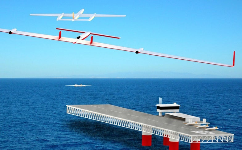 Recharged in Midair By Flying Battery-Drones, Electric Aircraft May Never Have to Land