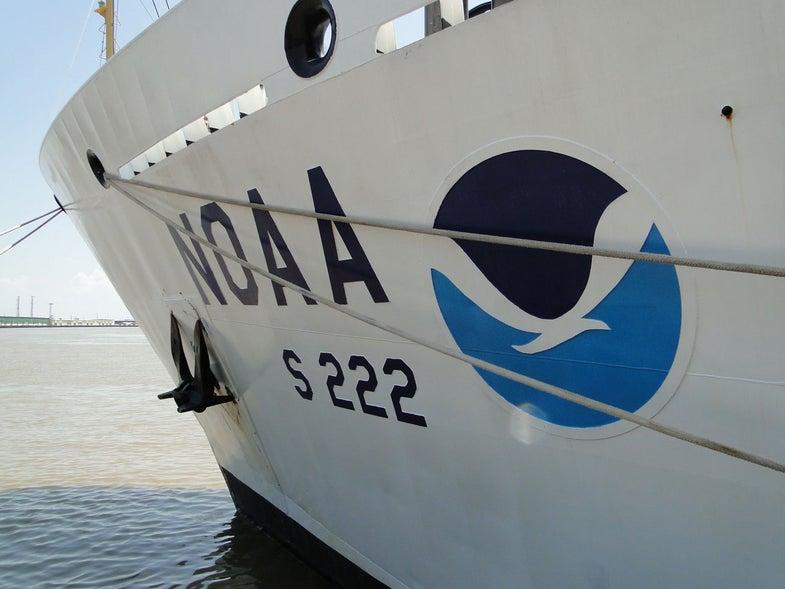 NOAA Vessel