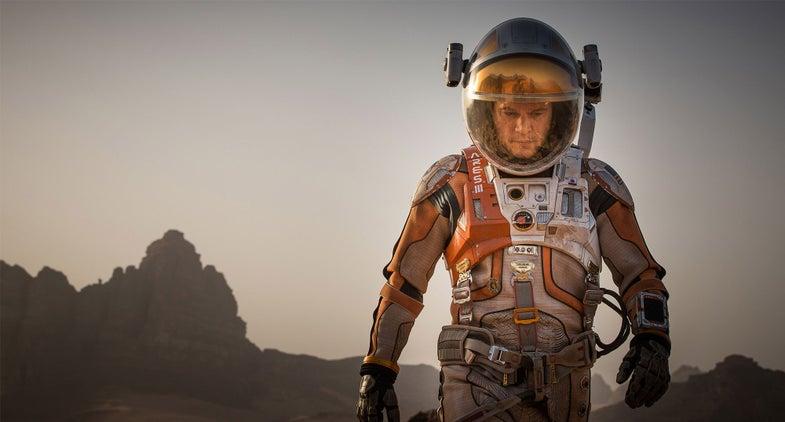 Why NASA Helped Ridley Scott Create 'The Martian' Film