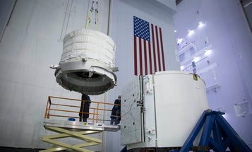 SpaceX Loads Inflatable Habitat For Launch To The Space Station