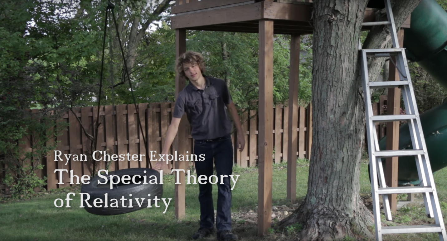 The First-Ever Breakthrough Prize Junior Winner Made This Cool Science Video