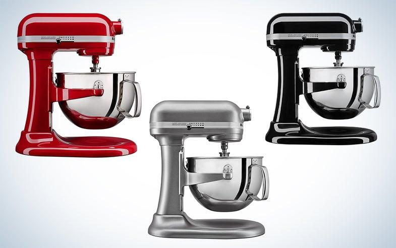 KitchenAid six-quart mixer