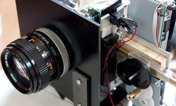 Old Flatbed Scanner + 50mm Lens = Amazing 130-Megapixel Scancam
