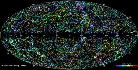 Unveiled: The Most Detailed 3-D Map of Local Universe Ever Created