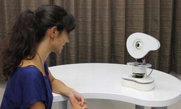 Japanese Robot Annoys People Until They Talk To It