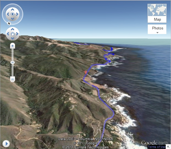Preview Your Drive From the Air, With Google Helicopter View