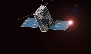 Tiny 'Lunar IceCube' Spacecraft Could Help NASA Build A Moon Mine
