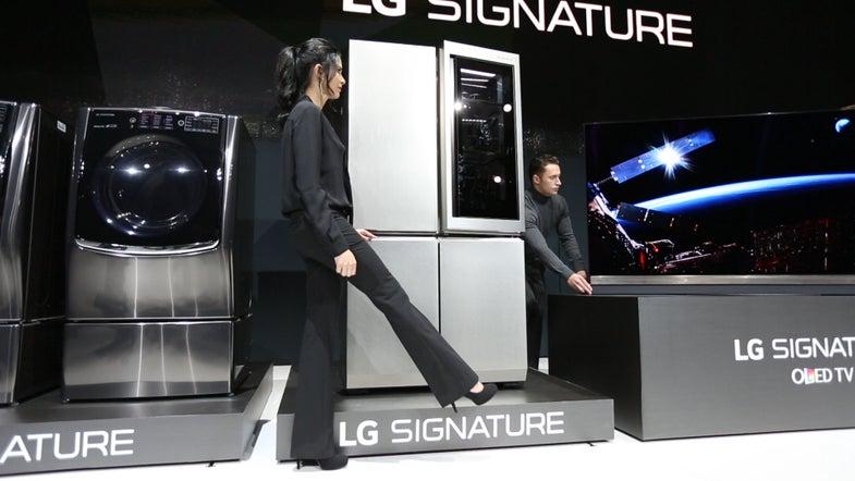 LG Just Made The World's Laziest Refrigerator