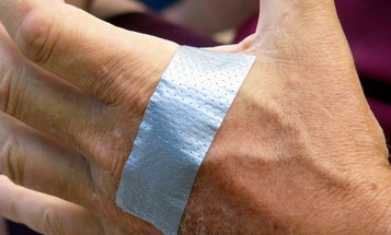 Bandages Made of Edible Starch Could Dissolve On Your Skin Once You're Healed
