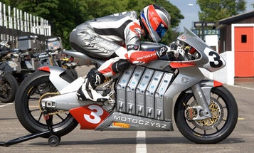 The Inside Story of the MotoCzysz E1pc, the World's Most Advanced Electric Motorcycle